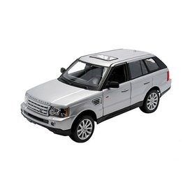 Maisto Land Rover Range Rover Sport silber - Modellauto 1:18