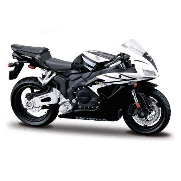 Modell-Motorrrad Honda CBR1000RR schwarz/weiß 1:18