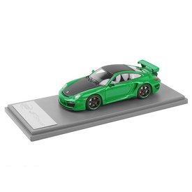 TechArt Porsche 911 (997) TechArt GT Street groen/zwart - Modelauto 1:43