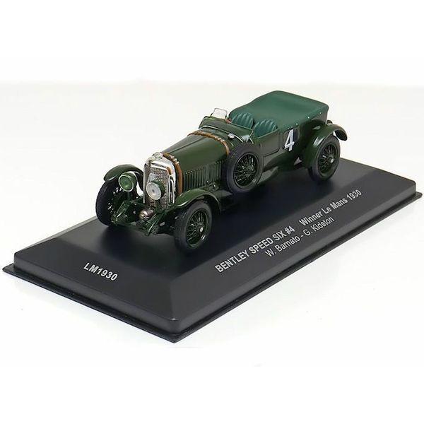 Bentley Speed Six No. 4 1930 groen - Modelauto 1:43