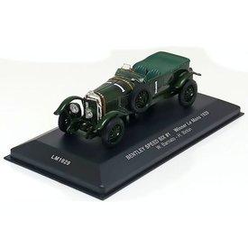 Ixo Models Bentley Speed Six No. 1 1929 groen - Modelauto 1:43