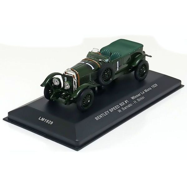 Model car Bentley Speed Six No. 1 1929 green 1:43