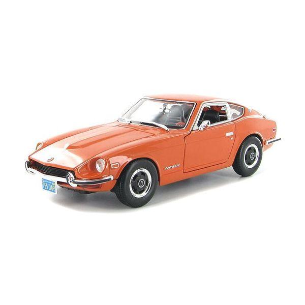 Model car Datsun 240Z 1970 orange 1:18