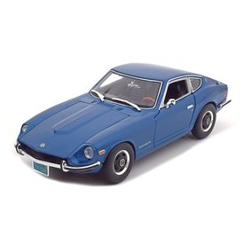 Maisto Datsun 240Z 1971 blue - Model car 1:18