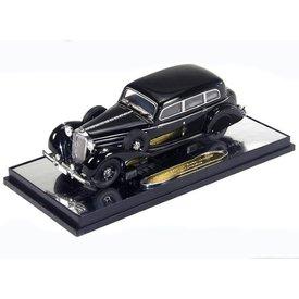 Signature Models Mercedes Benz 770K Pullman 1938 zwart - Modelauto 1:43