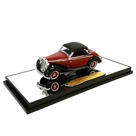 Signature Models Mercedes Benz 170S 1950 red/black - Model car 1:43