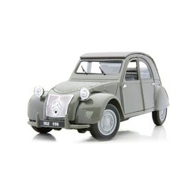 Maisto Citroën 2CV 1952 grijs - Modelauto 1:18