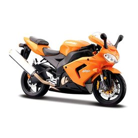 Maisto Kawasaki Ninja ZX-10R oranje - Modelmotor 1:12