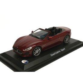 WhiteBox Maserati GranCabrio Sport dark red - Model car 1:43