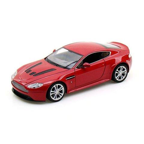 Aston Martin V12 Vantage rood - Modelauto 1:24