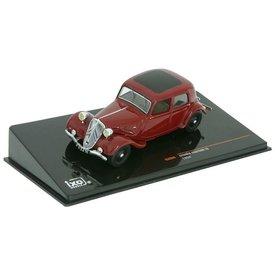 Ixo Models Citroën Traction Avant 7A 1934 dark red - Model car 1:43