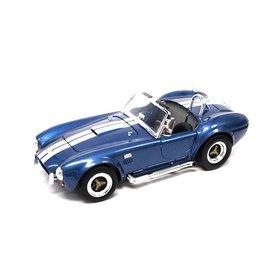 Lucky Diecast Shelby Cobra 427 S/C 1964 blauw - Modelauto 1:18