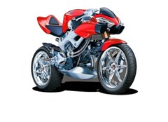 Model motorcycles & scale models