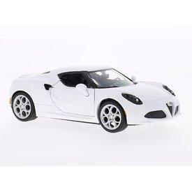 Motormax Alfa Romeo 4C weiß - Modellauto 1:24
