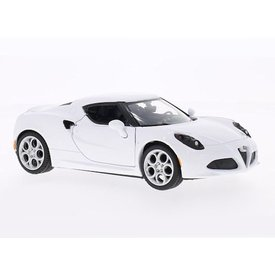 Motormax Alfa Romeo 4C white - Model car 1:24