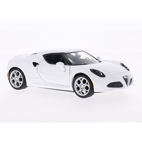 Alfa Romeo 4C weiß 1:24