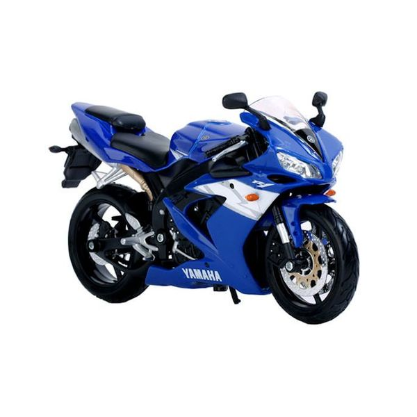 Model motorcycle Yamaha YZF-R1 blue 1:12