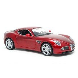 Welly Model car Alfa Romeo 8C Competizione red 1:24