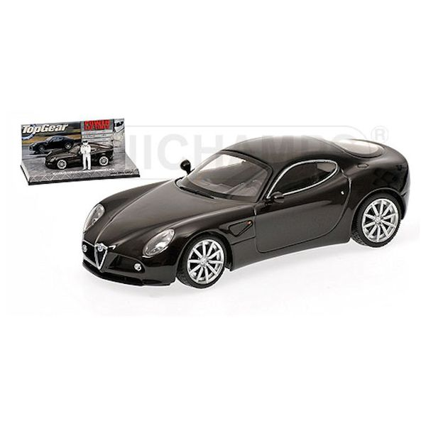 Model car Alfa Romeo 8C Competizione 2005 black 1:43