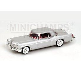Minichamps Lincoln Continental MK II 1956 silver, model car 1:43