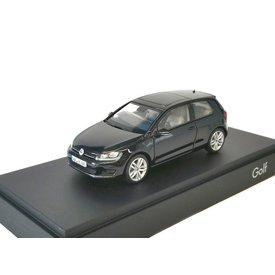 Herpa Volkswagen VW Golf 7 2012 zwart - Modelauto 1:43