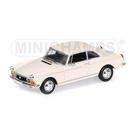 Minichamps Peugeot 404 Coupe 1962 creme - Modellauto 1:43