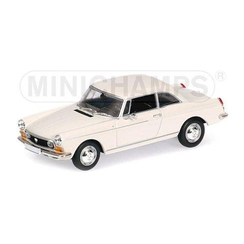 Peugeot 404 Coupe 1962 cream - Model car 1:43