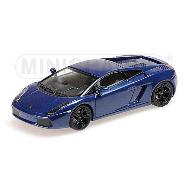 Model car Lamborghini Gallardo 2006 blue 1:43