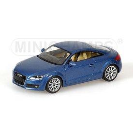 Minichamps Audi TT 2006 blue 1:43
