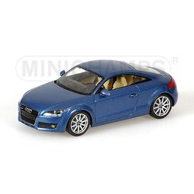 Minichamps Audi TT 2006 blue - Model car 1:43