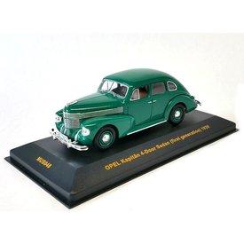 Ixo Models Opel Kapitän 4-door Sedan 1939 green - Model car 1:43