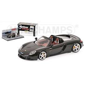 Minichamps Modelauto Porsche Carrera GT zwart 1:43 (Top Gear)