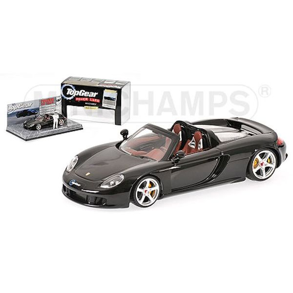 Modelauto Porsche Carrera GT zwart 1:43 | Minichamps