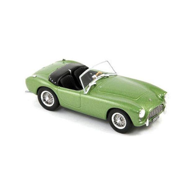 AC Ace 1957 bright green metallic - Model car 1:43