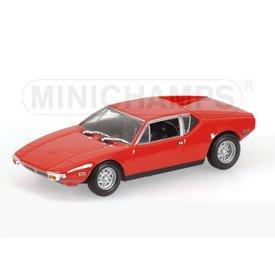 Minichamps DeTomaso Pantera 1974 rood - Modelauto 1:43