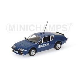 Minichamps Renault Alpine A310 Gendarmerie 1976 - Modelauto 1:43