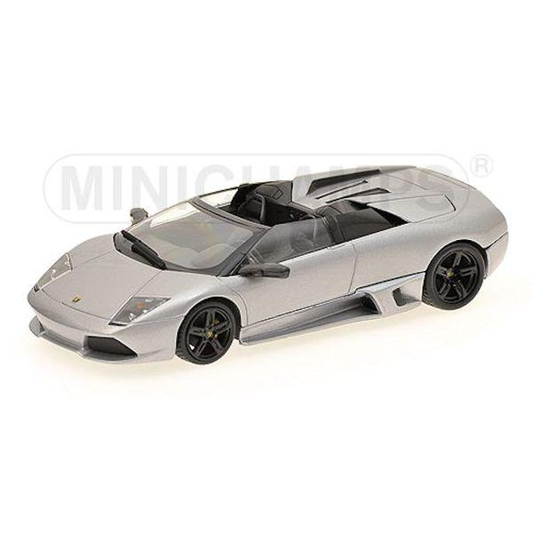 Model car Lamborghini Murcielago LP 640 Roadster 2007 grey 1:43   Minichamps