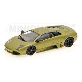 Minichamps Modelauto Lamborghini Murcielago LP 640 2006 groen metallic 1:43