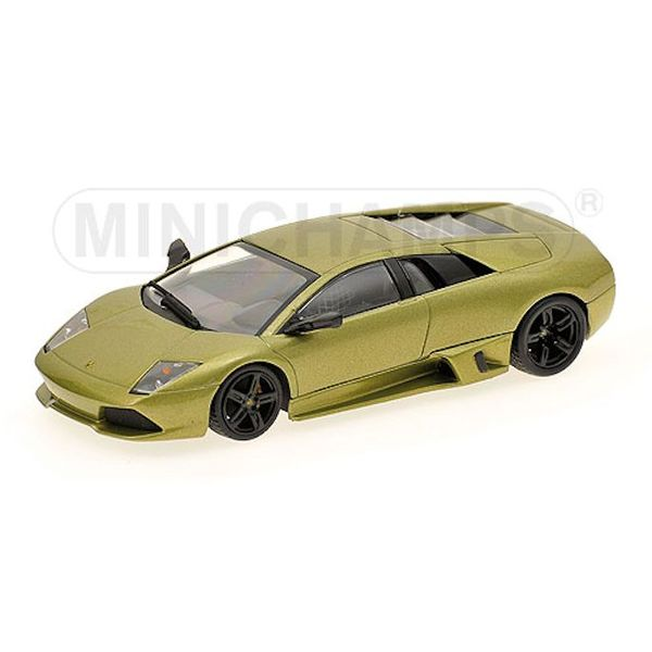 Model car Lamborghini Murcielago LP 640 2006 green metallic 1:43