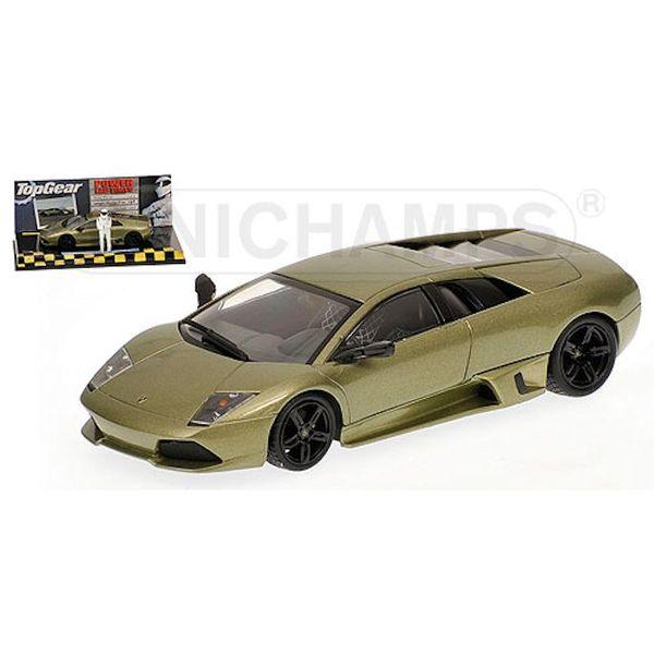 Model car Lamborghini Murcielago LP 640 2006 green metallic 1:43   Minichamps