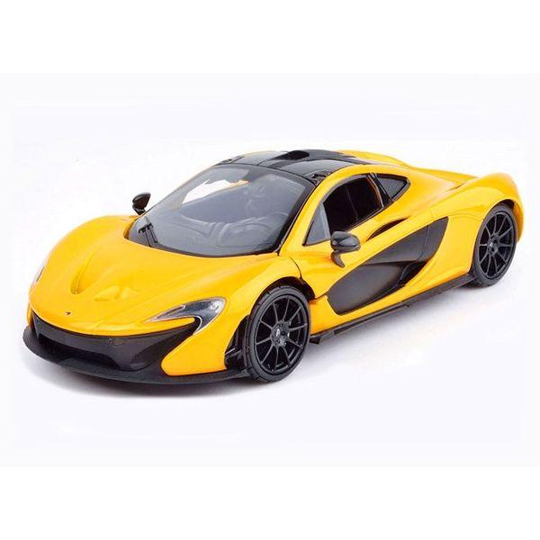 Modellauto McLaren P1 gelb/schwarz 1:24