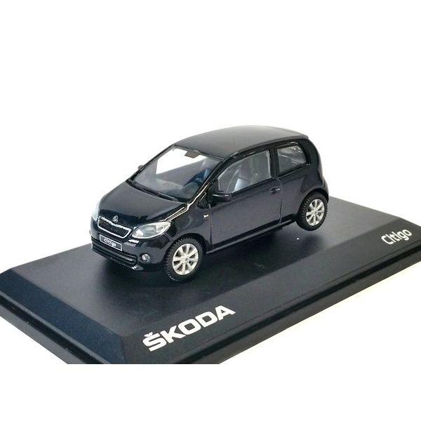 Model car Skoda Citigo 3-door black 1:43   Abrex