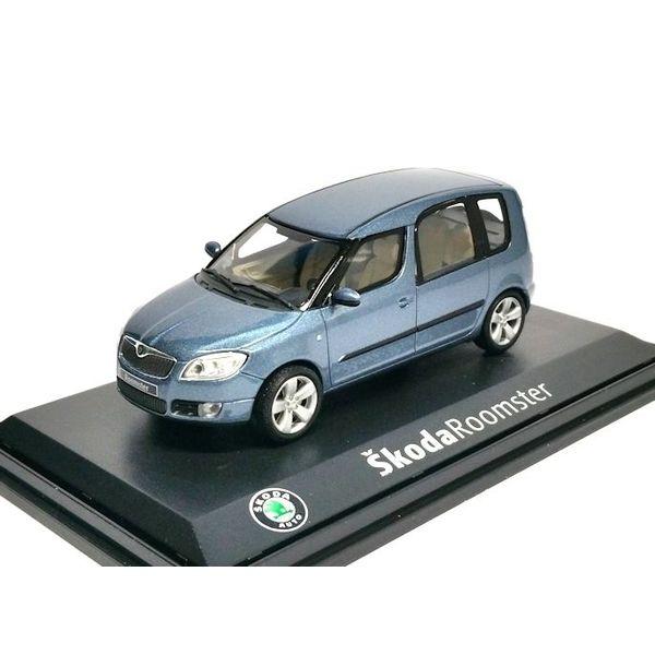 Modellauto Skoda Roomster hellblau metallic 1:43