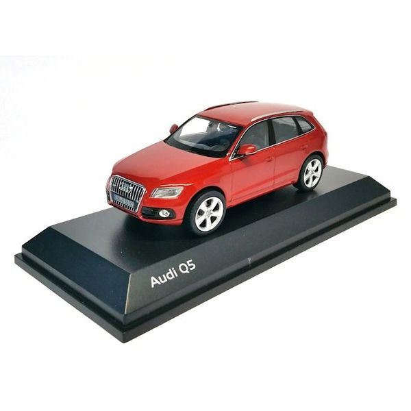 Modelauto Audi Q5 2013 rood 1:43 | Schuco