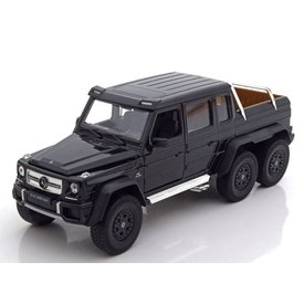 Welly Mercedes Benz G63 AMG 6x6 zwart - Modelauto 1:24