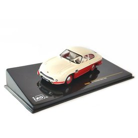 Ixo Models Panhard HBR5 1957 beige/rood - Modelauto 1:43