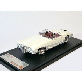 Premium X Stutz Blackhawk Convertible 1971 weiß - Modellauto 1:43