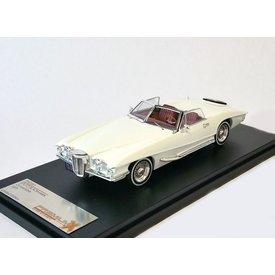 Premium X Stutz Blackhawk Convertible 1971 white - Model car 1:43