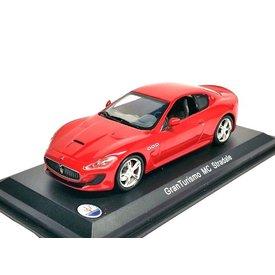 WhiteBox | Model car Maserati GranTurismo MC Stradale red 1:43
