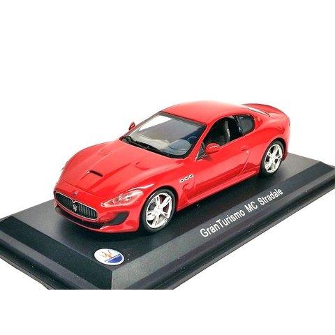 Maserati GranTurismo MC Stradale rood - Modelauto1:43